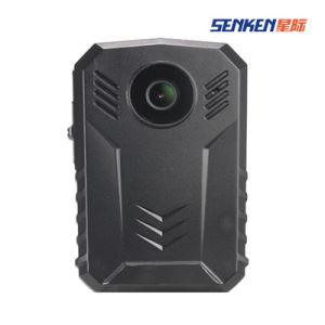 GPS構築のの小型サイズの夜間視界の警察の機密保護の無線カメラ