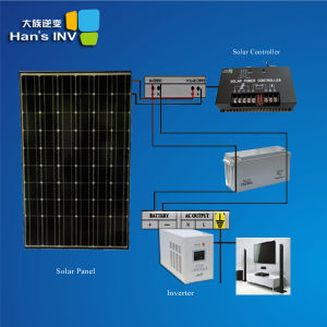 Système d'alimentation solaire 2kw
