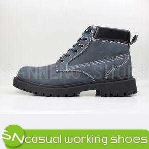 Escalada en los zapatos deportivos zapatos con suela de inyección de PVC (SNW-01026)