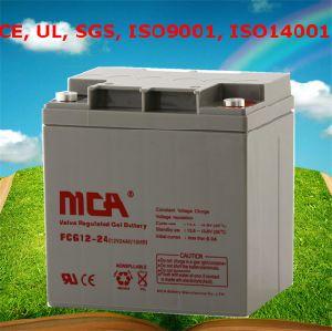 12V 24Ah con celdas de gel de 12 voltios de la batería de Gel Baterías 12V