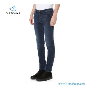 Nuovi jeans scarni sbiadetti classici caldi degli uomini di modo (denim ansima il P.E. 4113)