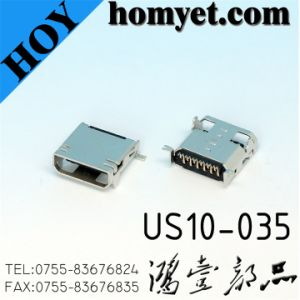 Conector micro USB para cable de accesorios (nosotros10-035)