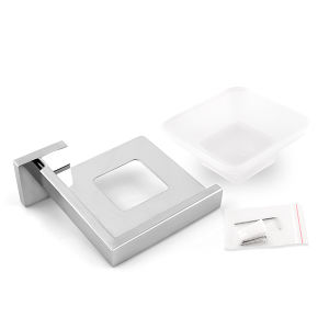 Хромированный корпус из нержавеющей стали ванные комнаты аксессуары Настенный держатель тарелки Soap