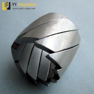 NdFeBは曲げられた磁石アークの形の磁石のネオジムをカスタマイズした