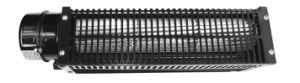 Металлическое лезвие осевых вентиляторов с электроприводом переменного тока