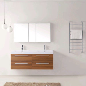 Горячая продажа 138 см MDF туалетный столик в ванной комнате