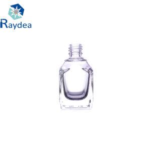 quadratische Glas-kosmetische Flasche des Feuerstein-13ml für Nagellack