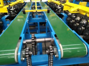 Entièrement automatique pour tube carré de la ligne du conduit d'rendant la production