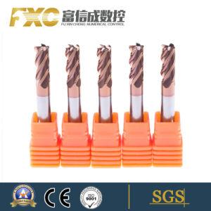 Ferramentas CNC 4 flautas sólido quadrado carboneto de tungsténio Final Mill