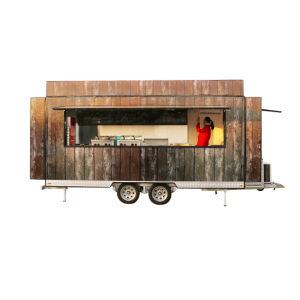 Intelligente Verkauf-Karre für den Verkauf der Eiscreme, Hamburger