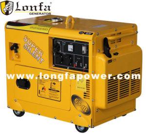 超無声低雑音5kw 6kwガソリン発電機