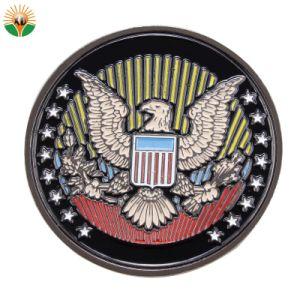 カスタムめっきの金の金属のクラフトの記念品の硬貨