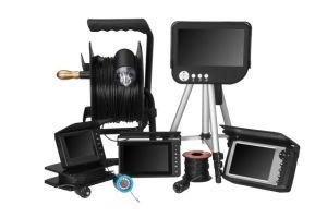 5-pulgadas de vídeo de 1080p fish finder Monitor, Foto/Video, la profundidad/Temp., 50m, 100m o 150m.