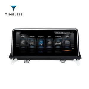 Andriod Timelesslong aluguer de DVD de vídeo para o BMW X5 E70 X6 E71 (2011-2013/2014) 10.25 OSD Original estilo com /WiFi (TIA-225)