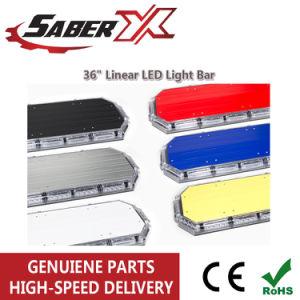 Lineal de 36 pulgadas de buena calidad de la barra de luz LED para emergencia/Policía/advertencia