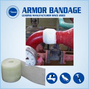 Resistente à corrosão Industrial ativado de água do tubo de fibra de Fita de reparação