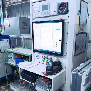 Comercial de condicionador de ar da máquina externa Online Automática deSistema de inspecção