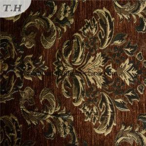 100% poliéster tejido Jacquard de chenilla Material para el sofá (Fürth32080)