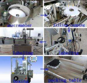 Le plafonnement de la machine de remplissage pour l'emballage chimique/liquide, de parfum
