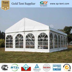 Роскошный алюминия для использования вне помещений Группа Marquee свадьбы палатка 6X9m для событий
