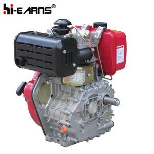 12HP dieselmotor met de Rode Kleur van de Nokkenas (HR188FAS)