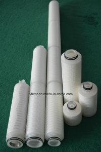 2.5 '' 5 '' Patronen van de Filter van de Duim PP/Pes/PTFE/Nylon/PVDF de Lucht Geplooide voor Water