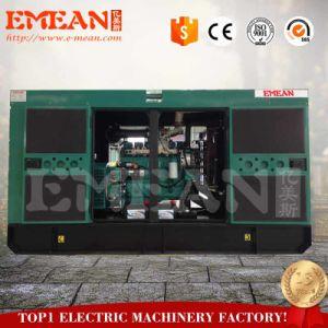 世界的に有名なエンジンパーキンズを搭載する80kw無声ディーゼル発電機