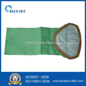 Sacchetto filtro verde della polvere per i vuoti dell'ufficio e della famiglia
