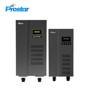 10kVA de baja frecuencia monofásico de UPS en línea con el interior de la batería