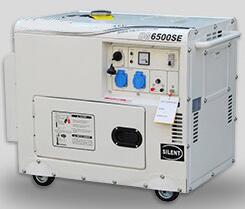 Ce, ISO Verklaarde 5kVA Stille Mobiele Diesel Generator