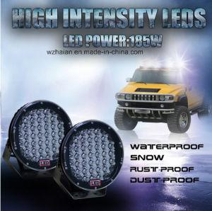 185W 4D LED作業は12V 24Vのクリー族のオフロードフォークリフト車のスポットライトの掘削機ATVランプのトラクターのトラックの軽いボートUTVのスポット・ビームをつける