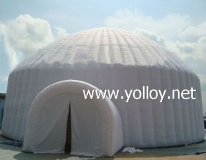 tout d 39 igloo tente d me gonflable pour le camping tout d. Black Bedroom Furniture Sets. Home Design Ideas