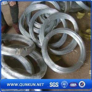 Alambre de hierro galvanizado para uso de enlace