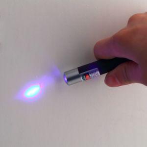 indicatore luminoso rosso viola blu della penna dell'indicatore del laser di verde del laser 5MW