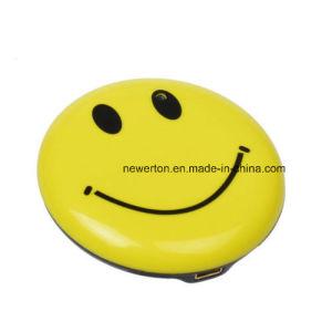 Sonrisa cara Badge Mini DV HD cámara de seguridad CCTV DVR Grabador de vídeo Cam