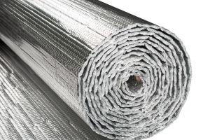 Bolha única folha de alumínio de isolamento térmico