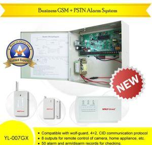 Wireless Personal negocios GSM Phone Dialer Syetem Alarma de seguridad (YL-007GX-8/16)