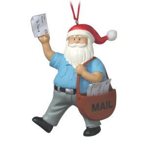 Ornamento de Papá Noel, Santa Claus en 3D, 3D, 3D de adornos de Navidad