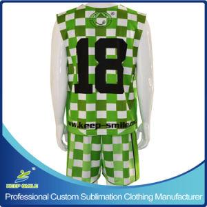Reversibles와 Shorts를 가진 주문 Sublimation Lacrosse Sports Garment