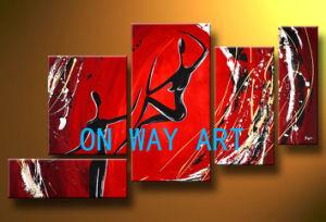 Het Abstracte Olieverfschilderij van de Kunst van Onway (OA-O17)