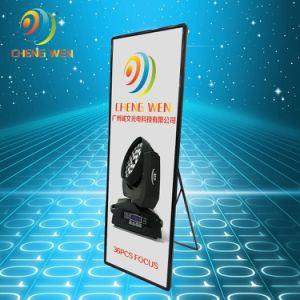 Prodotti di mostra di P4 LED che fanno pubblicità alla video parete che fa pubblicità alla visualizzazione del manifesto