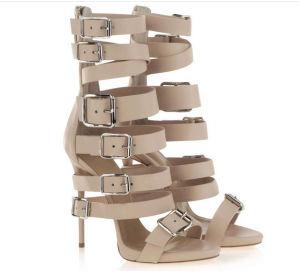 Mode féminine haut talon Chaussures en cage