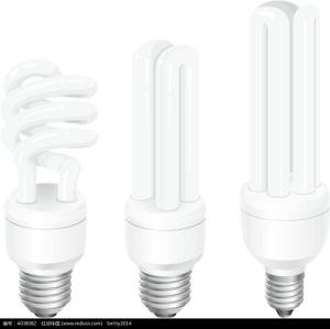 Forme de U Lampe à économie d'énergie lampe fluorescente (UT-01)