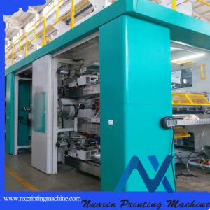 Económico flexográfica de tambor central/máquina de impresión Flexo