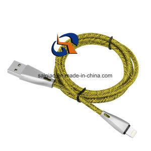 Zink-Blitz-aufladendaten-Kabel für Iphonex
