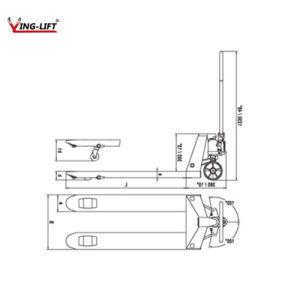 Dfによって溶接される油圧ポンプバンドパレットDfシリーズ