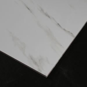 De Kleur van de Steen van Carrara poetste Verglaasde Porselein & Ceramiektegel voor Vloer en Muur op