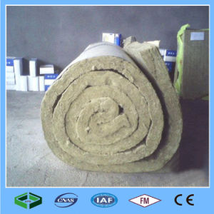 Lã mineral enfrentou o isolamento do fio de manta de lã de rocha