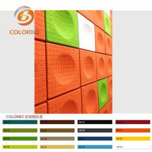 Produkt des Büro-Verzierung-materielles Polyester-Faser-akustischen Panel-3D