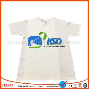 ロゴの印刷3DのTシャツとの普及した多彩